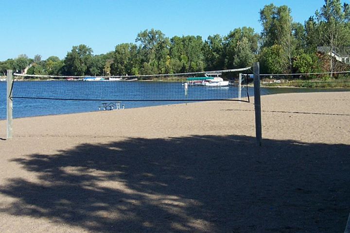 Antlers beach volleyball courts