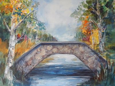 stoney bridge painting